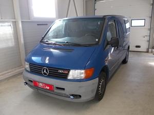 eladó Mercedes-Vito-110-2.2-CDI-Automata-MESTERHÁRMAS-AJÁNLAT használtautó